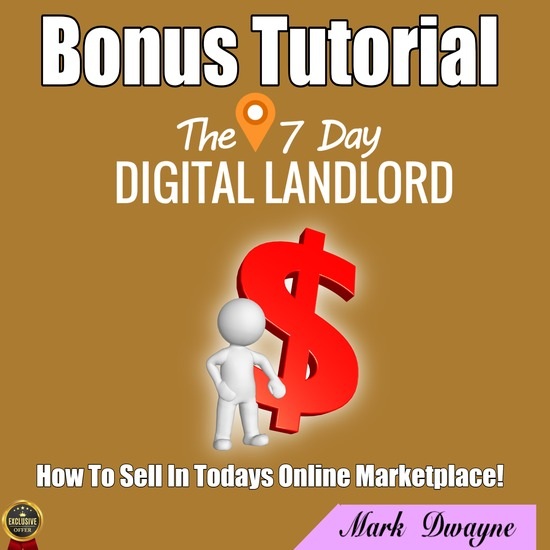 The 7 Day Digital Landlord review,The 7 Day Digital Landlord discount