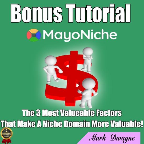 MayoNiche review,MayoNiche bonus