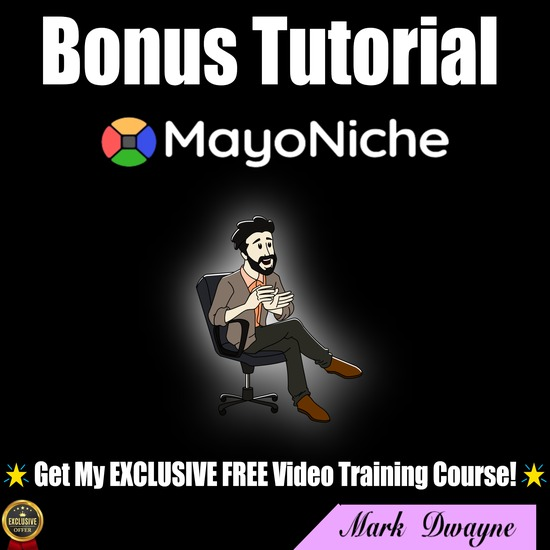 MayoNiche review,MayoNiche review bonus