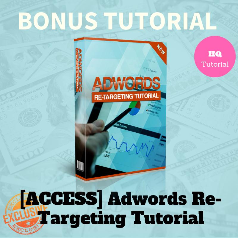 Adwords Re-Targeting Tutorial